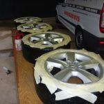 Before Alloy Wheel Repairs