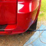 Before Car Paint Repair