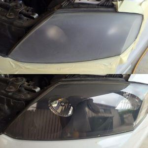 Cloudy Headlight Lens Restoration