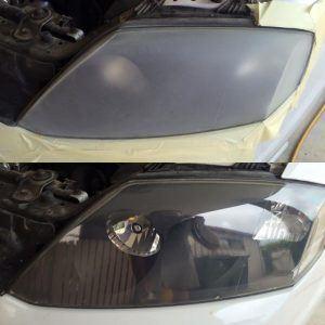 Cloudy Headlight Lens Restoration