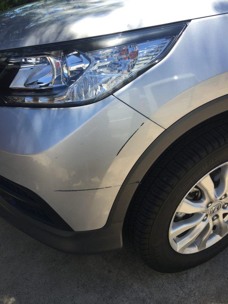Small car repair for less than insurance excess