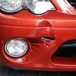 Bumper Repairs  - Large crack - BEFORE