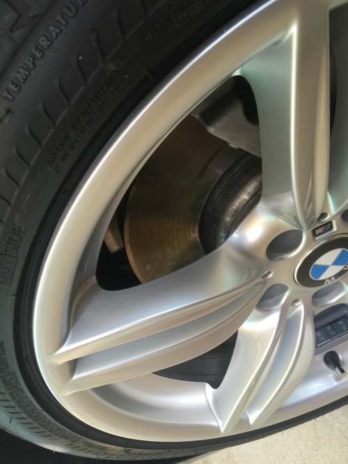 After alloy wheel repair