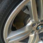 Before Alloy Wheel Repair