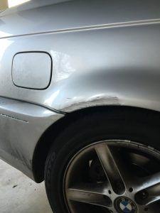 Vehicle repairs for less than crash before
