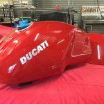 Ducati repair after