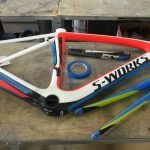 Bicycle Frame before transformation