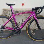 Full colour change to bike frame