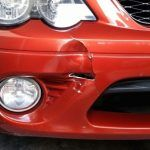 Large crack repair front bumper BEFORE-2