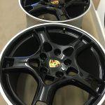 Porsche Alloys - full respray 2 toned