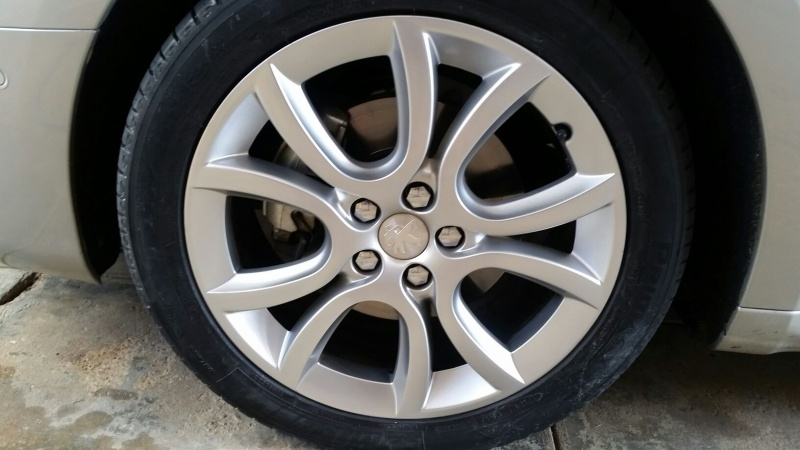 After Alloy Wheel Repairs