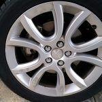 Before Alloy Wheel Repairs