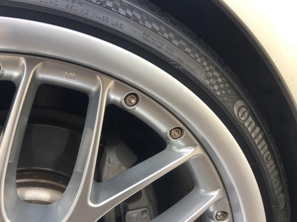 Polished BMW Rim After