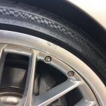 Polished BMW Rim Before