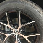 Two Toned Machined Rim Repair After