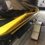 Jetski paint chip repair AFTER