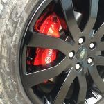 Brembo caliper respray AFTER 2