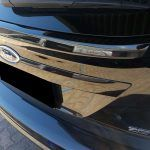 Ford tailgate dented after