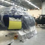 Helicopter Panel Respray Before