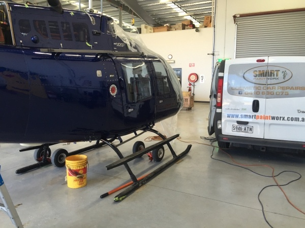 Helicopter Respray After