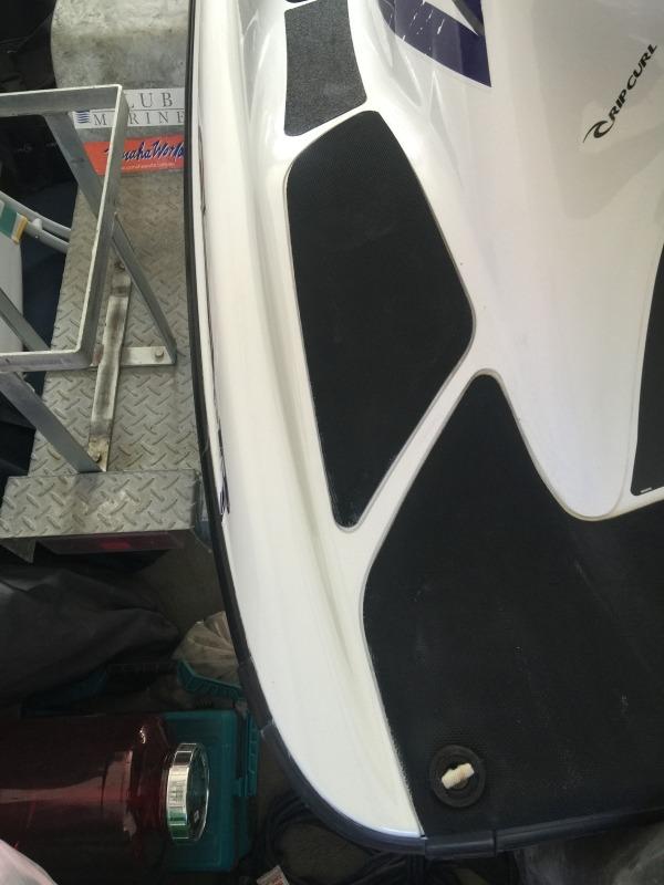 Jet Ski Paint Repair After