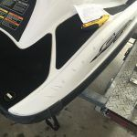Jet Ski Paint Repair Before