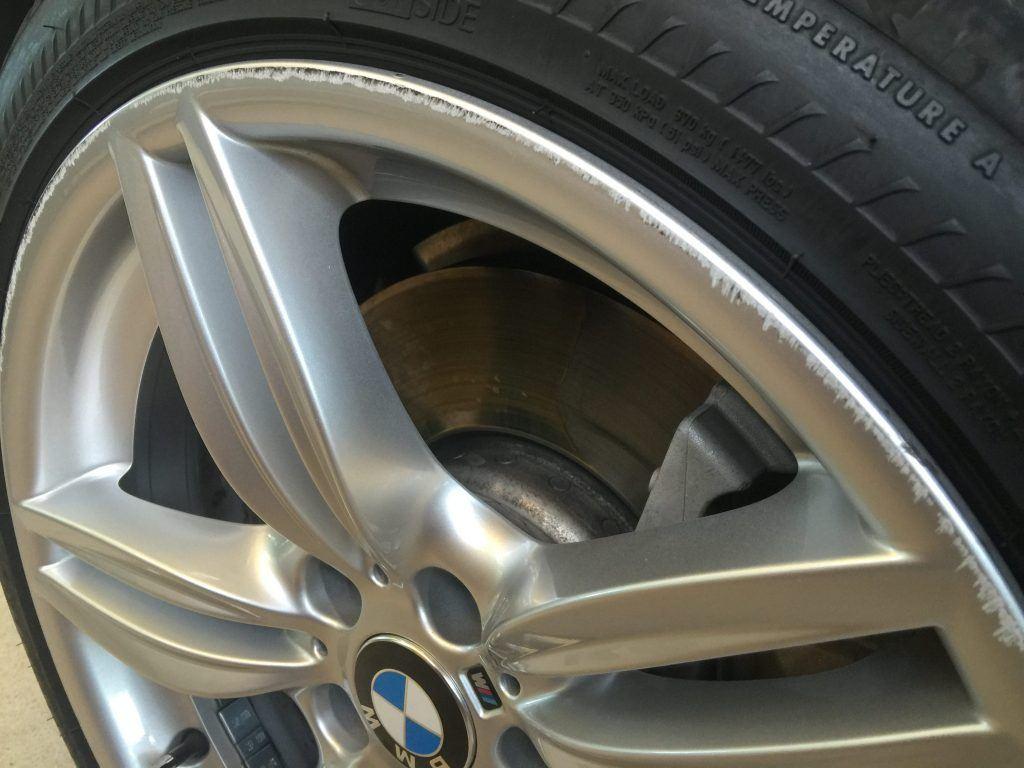BMW Alloy Wheels - Damage
