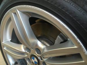 BMW Alloy Wheels - Damage
