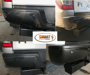 Rust repair on metal bumper - Mobile Bumper Repairs