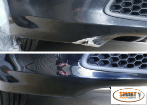 Small Bumper Repairs on a BMW