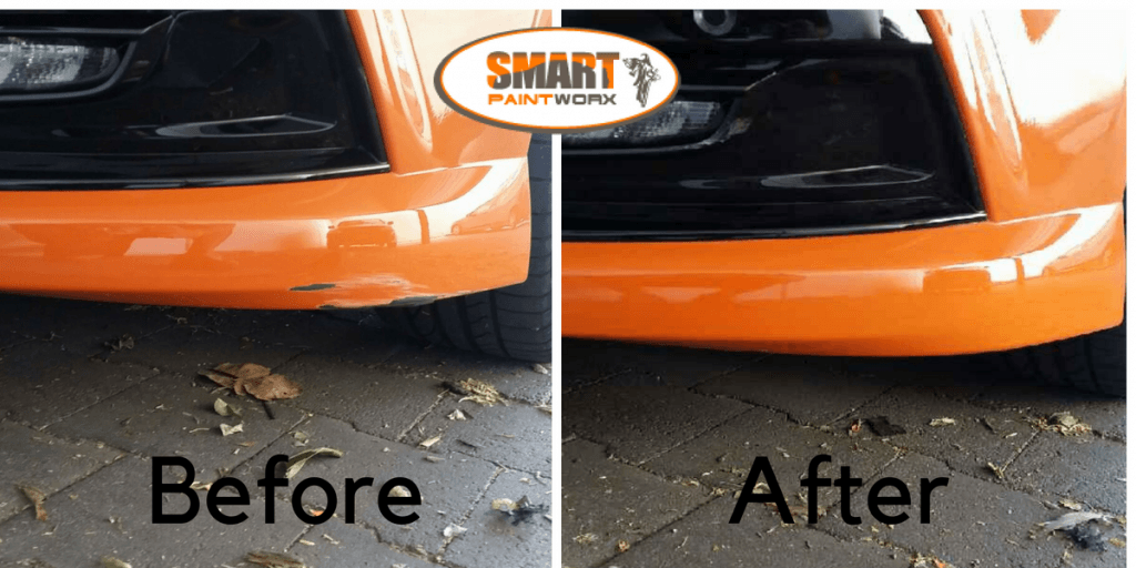 Quick mobile bumper repair