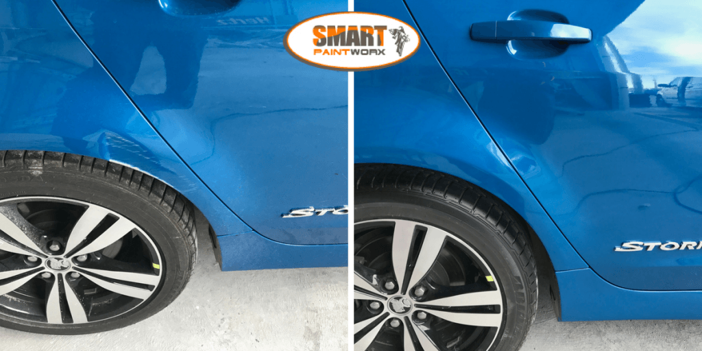 Dent Repair With A Blend Panel