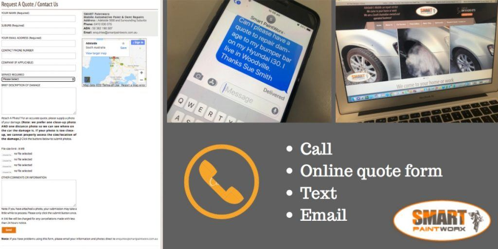 how to get a mobile car repair quote