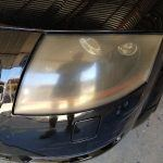 Audi TT Headlights - Before
