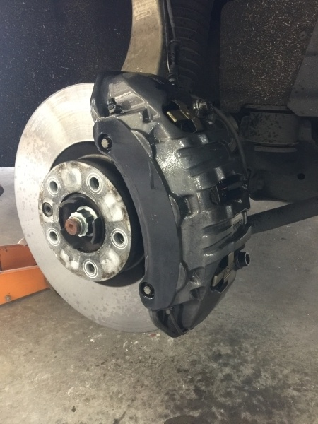 Brembo Calipers - Before