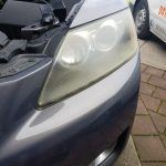 Headlight Restoration Mazda CX7 - Before