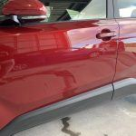 Toyota Key Scratch - After