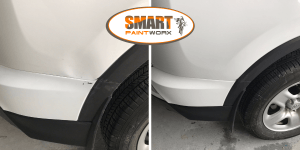 Plastic Bumper Repair & textured wheel trim