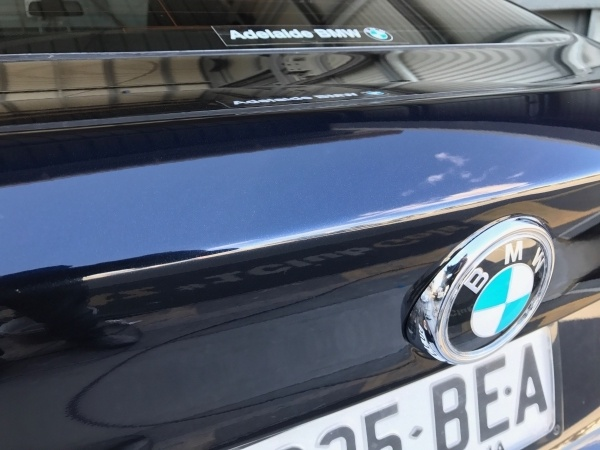 BMW Boot Lid Scratch - AFter