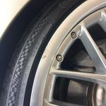 Polished rim repair - Before
