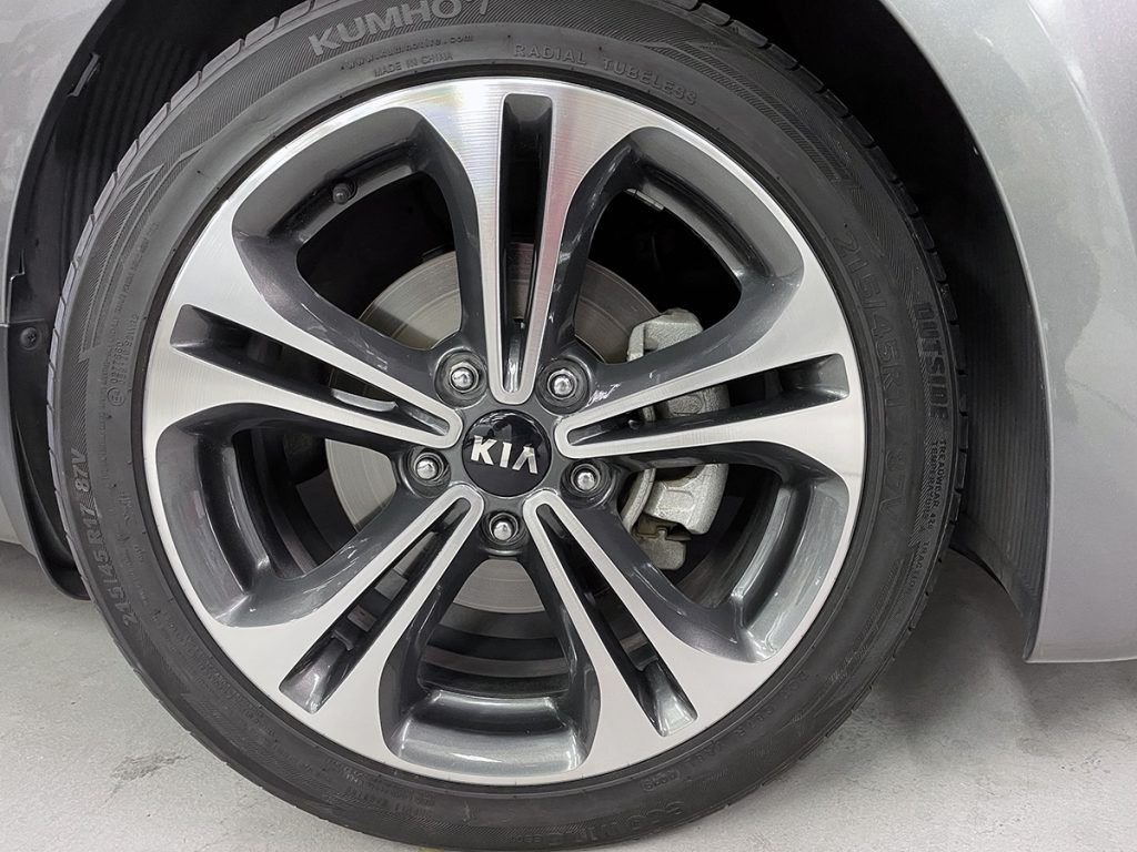 Kia Machined Rims AFTER